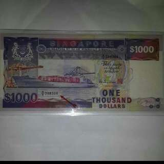 Clearance Xmas sale $1000 Note Ship Series