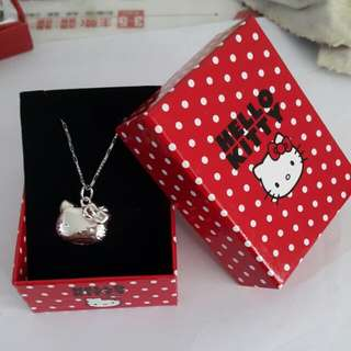 100% real silver with necklace and pendant