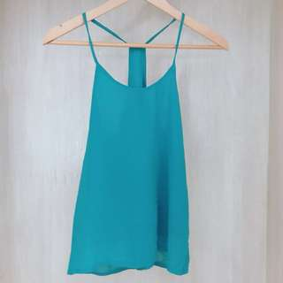 Girl meets Perl Sleeveless Top | Size : Small
