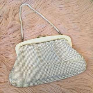 Vintage Glomesh White Bag