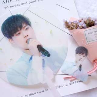 produce 101 always yoo seon ho transparent fan+pc