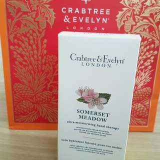 Crabtree And Evelyn hand therapy