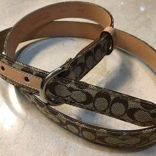 COACH womens belt tali pinggang