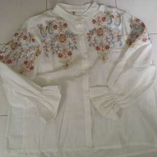 New floral blouse
