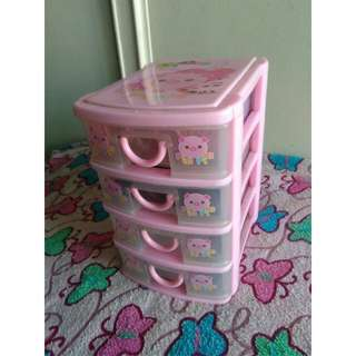 Mini Pig Drawer (Pink)
