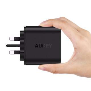 (LOCAL)Aukey 36W 2 Port USB Wall Charger