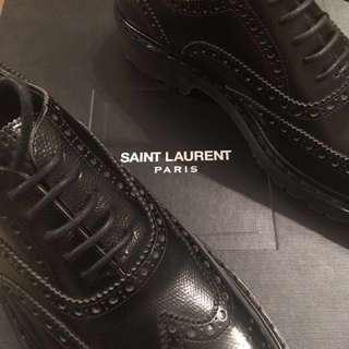 Saint Laurent YSL All Black Broque Triple Black