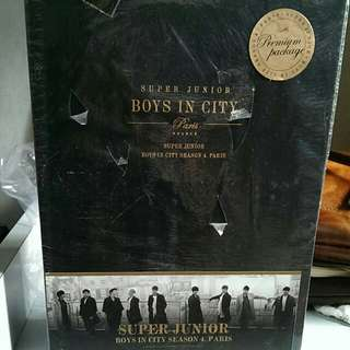 Super Junior Boys In City - Paris