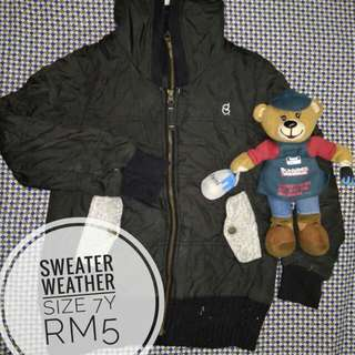 SWEATER WEATHER 7Y #SemuaRM5
