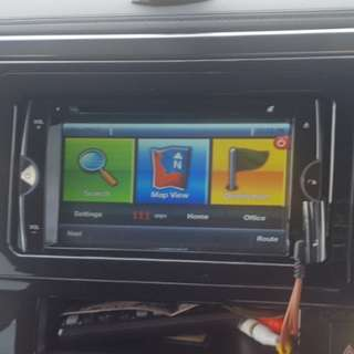 Car DVD player Nakamichi 3709 with navigation bluetooth