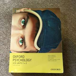 Oxford psychology VCe unit 1 2 third edition