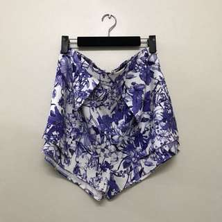ALLY Loose Fit Printed Detail Shorts