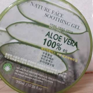 🚚 Nature Face 100%蘆薈保濕凝膠300ml