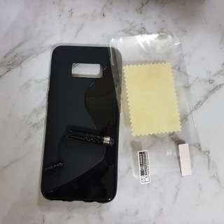 Samsung S8 Rubber Case - Black
