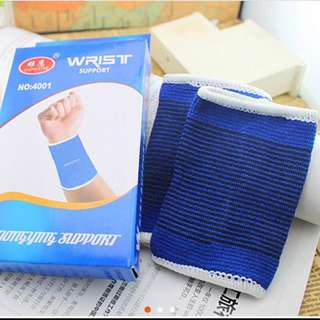 💪🏻超彈力針織運動護腕-藍