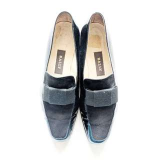 Bally Black Loafers