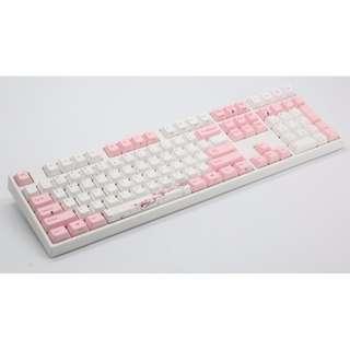 Varmilo Sakura Limited Edition 108 keys Dyesub Dye sublimiation PBT Cherry MX Keycaps English ANSI Layout NEW ! (Keyboard NOT included !)
