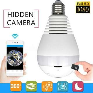 Hidden Camera Light Bulb
