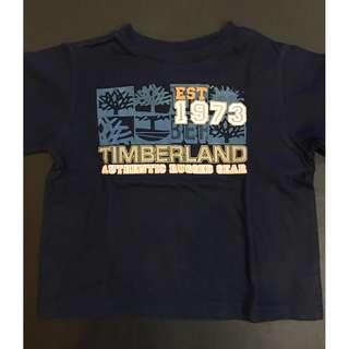 Timberland blue printed shirt (1-3yo)