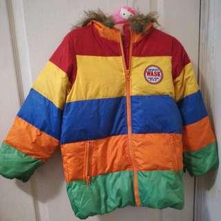 Korea Boys Colorful Down Jacket