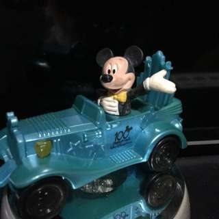 McDonald's Happy Meal Disney's Stars and Motor Cars Parade Mickey Mouse Toy Figure Vehicle