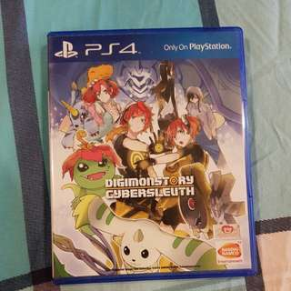 Digimon Story Cybersleuth PS4 BD