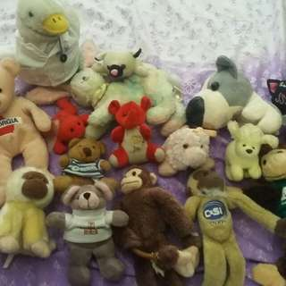 (Repriced!!!) STUFFED TOYS BUNDLE!!