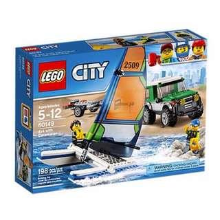 Lego 60149 4 X 4 with Catamaran