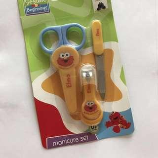 20pcs Sesame street scissor, nail clipper and nail trimmer