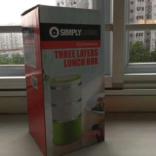 Simply living three layers lunch box