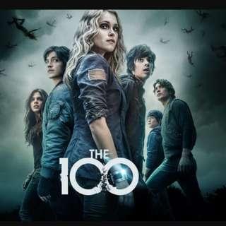 #MidNovember50 THE 100 SEASON 1 DVD - 4 disc (complete season 1)