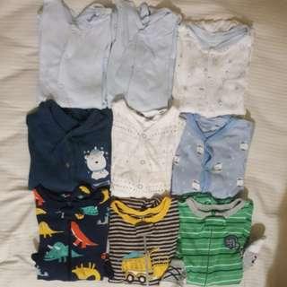 Baby Pyjamas 6m 9m 12m 18m