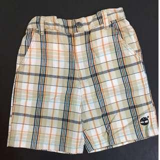 Timberland checkered shorts (1-2 yo)