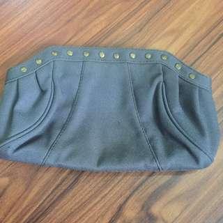 Vintage Denim Clutch Bag