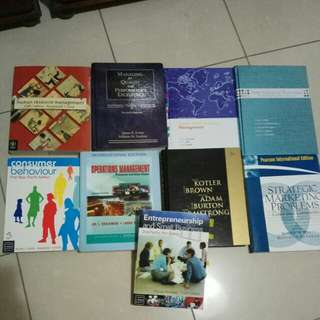 Business Uni Textbooks
