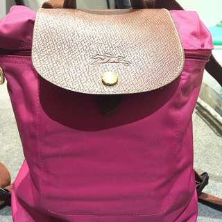 Longchamp special edition backpack