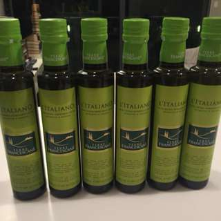 Italian top quality extra virgin olive oil