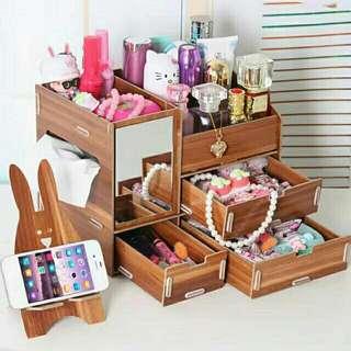 Wooden organizer.
