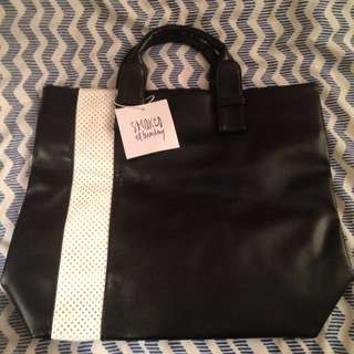 Sports Luxe Tote