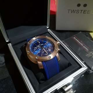 TW Steel Grandeur Tech (TS3) Blue