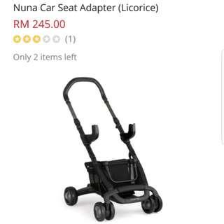 Nuna Peep adapter for car seat (maxi cosi)