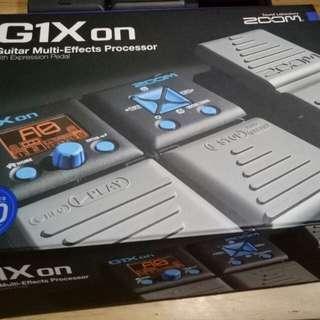 Zoom G1Xon Guitar Multi-Effects Processor