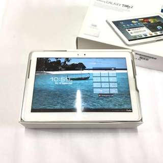 REDUCED Samsung Galaxy Tab2 (10.1) (white) (16gb) (perfect condition)