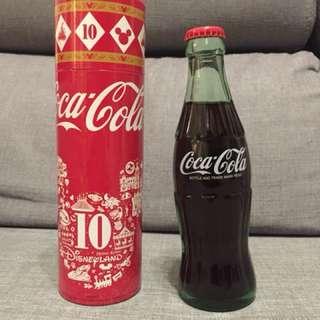 香港迪士尼樂園10週年「可口可樂」紀念樽