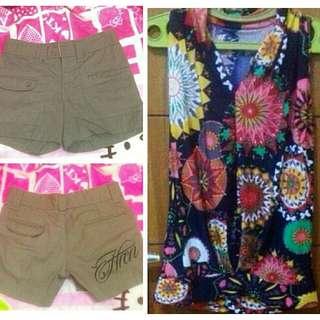 1 set pakaian wanita