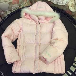 🚚 EDWIN(正品)淡粉色羽絨外套 尺寸:S