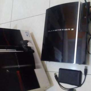 Ps3 Fat + Hardisk 500 Gb