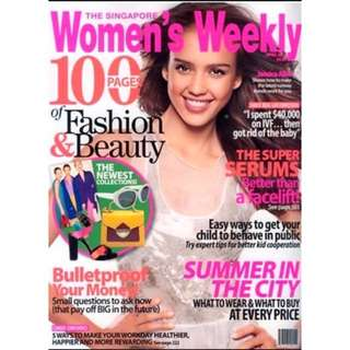 Women's Weekly Subscription (Monthly)