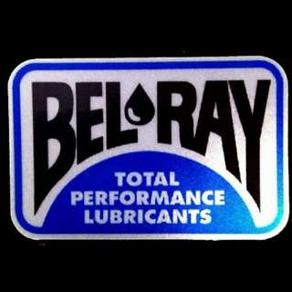 Reflective Bel-Ray Decal