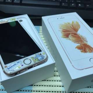 🚚 iPhone 6s. 64G 玫瑰金